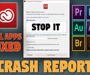 Adobe Apps Crash
